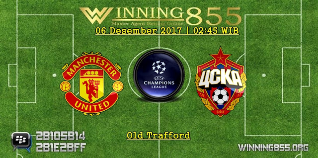 Prediksi Akurat Manchester United vs CSKA Moscow 06 Desember 2017