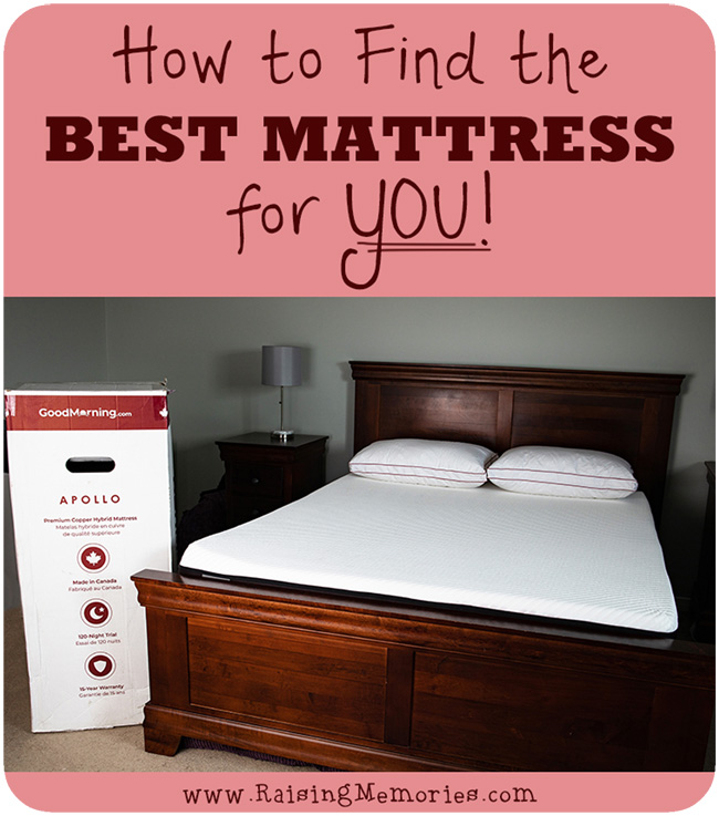 How to Find the Best Mattress For You