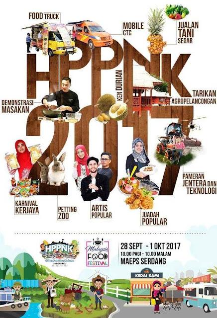 HPPNK 2017, Malaysia Food Festival
