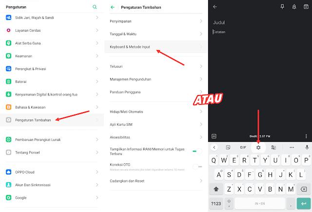 Fitur Android untuk Mempermudah Saat Mengetik