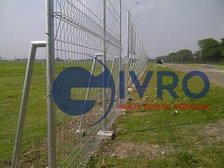 Pagar BRC Bandara Givro Multi Teknik Perkasa