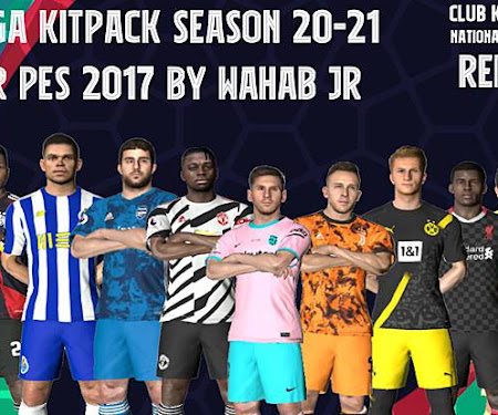 PES 2017 Mega Kitpack Season 2020-2021 V7 AIO