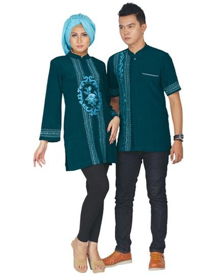 Baju Batik Anak Muslim: Model Baju Muslim Batik Pesta Modis Atasan Untuk Pria
