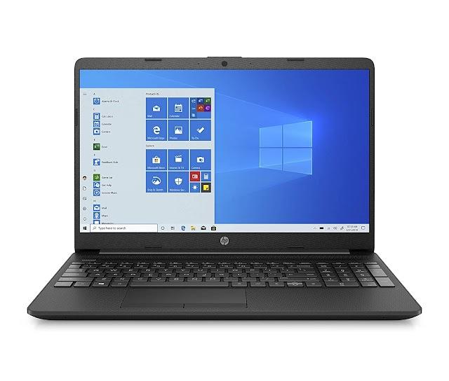 HP 15 (2021) Thin & Light 11th Gen Core i3 Laptop, 8 GB RAM, 1TB HDD, 15.6-inch FHD Screen, Windows 10, MS Office
