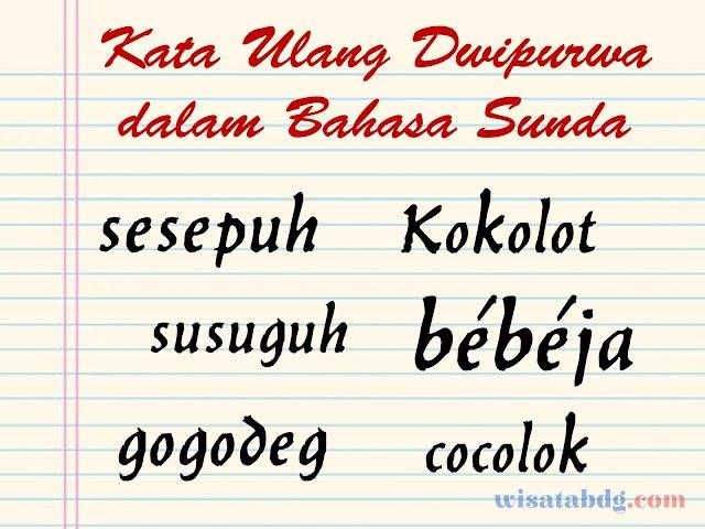 Mengenal Makna dan Contoh Kalimat Kata Ulang Dwipurwa dalam Bahasa Sunda