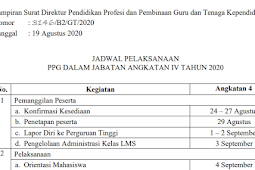 Jadwal dan Syarat Pendaftaran PPG Daljab Tahun 2021