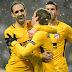 Atlético Madrid goleó en Dinamarca y tiene un pie en octavos de final