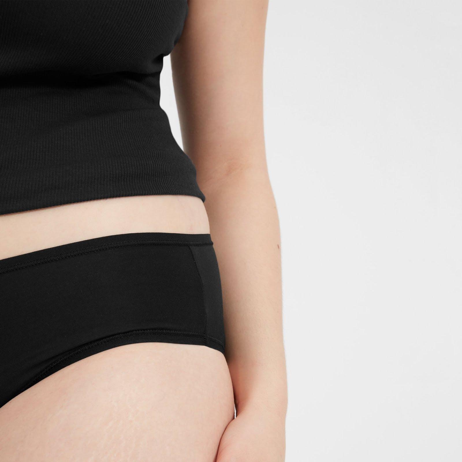 Everlane Hipster Thong Bikini Underwear Panties