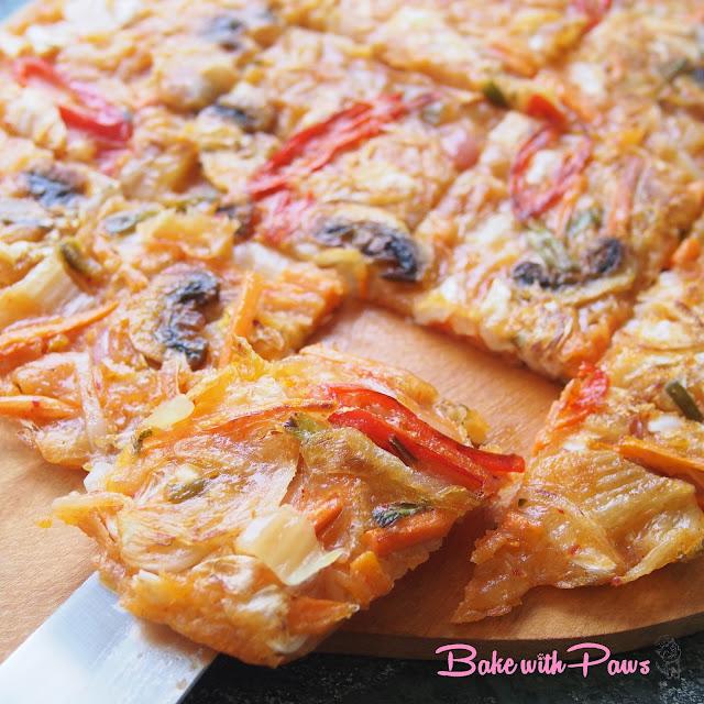 Korean Pancake (Sourdough Discard)
