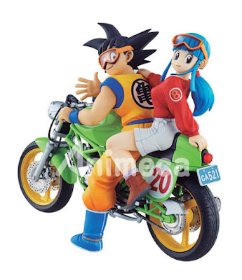 Figura Son Goku & Chichi Desktop Real McCoy 05 Dragon Ball Z