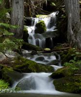 silver falls in Okanogan-Wenatchee National Forest