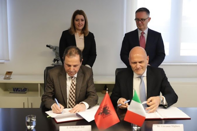 Agreement signed with Bari Hospital; 10 Albanian patients can be treated at Bari Hospital each year