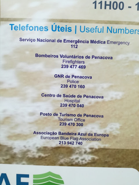 Telefones Úteis da Praia do Vimieiro