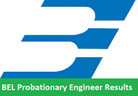 BEL Probationary Engineer Results