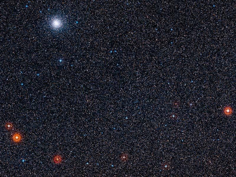 Região em torno da estrela hospedeira do exoplaneta GJ 1132 b