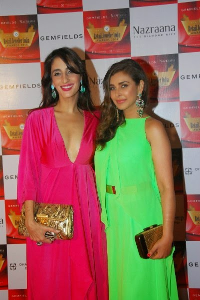 Lisa Ray and Farah Khan