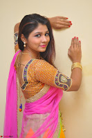 Lucky Sree in dasling Pink Saree and Orange Choli DSC 0380 1600x1063.JPG