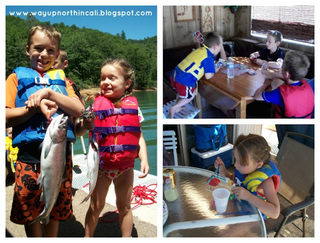 Houseboating on Shasta Lake WITH KIDS!! Top 10 Tips for Houseboating with KIDS! www.wayupnorthincali.blogspot.com