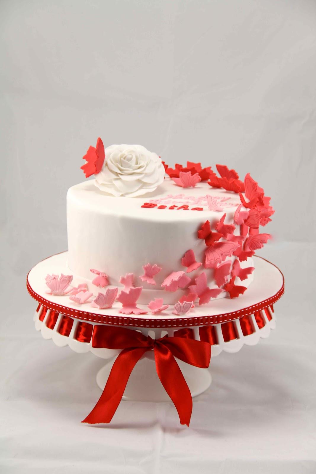 Radiant Birthday Cake