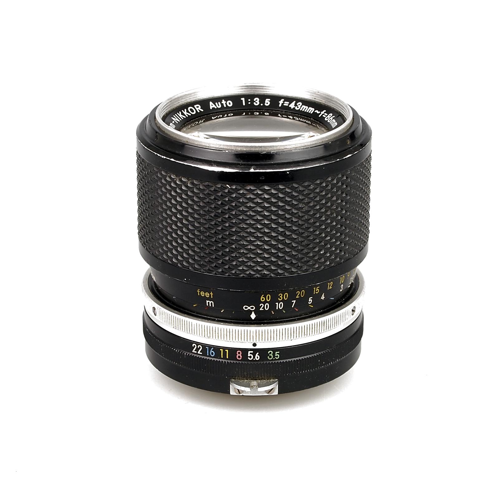 Zoom Nikkor Auto 43-86 f/3.5
