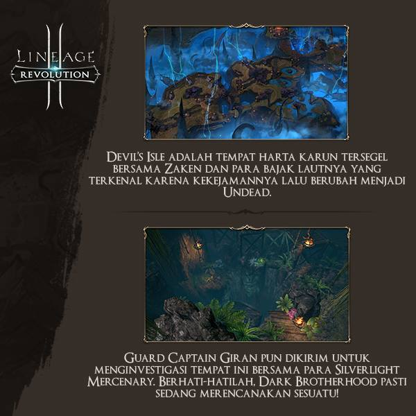 Map Devil Isle Lineage 2 Revolution Indonesia
