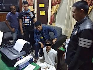 DPO Curanmor di RSUD Sungai Dareh Ditangkap Dinihari Tadi