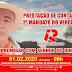 VEREADOR RÊ DO SINDICATO PRESTA CONTAS DE SEU MANDATO NESTE SÁBADO EM BONFIM