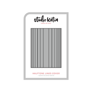 HALFTONE LINES COVER