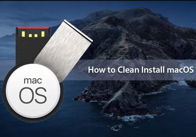 How to Clean Install Mac OS using a USB drive on Mac