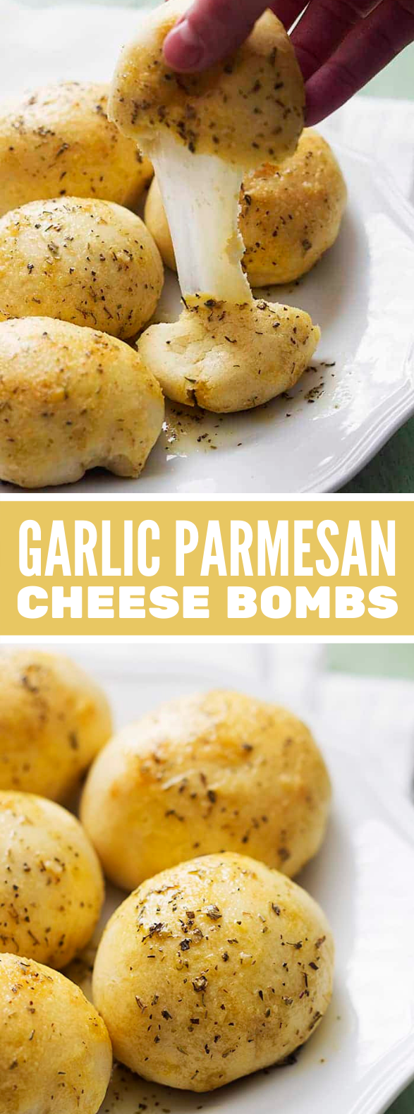 GARLIC PARMESAN CHEESE BOMBS #lunch #dinner