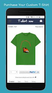 Aplikasi Android T-Shirt Design Studio Memiliki Fitur Desain Baju dan Kaos