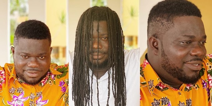 Obour shows off new look as he cuts dreadlocks