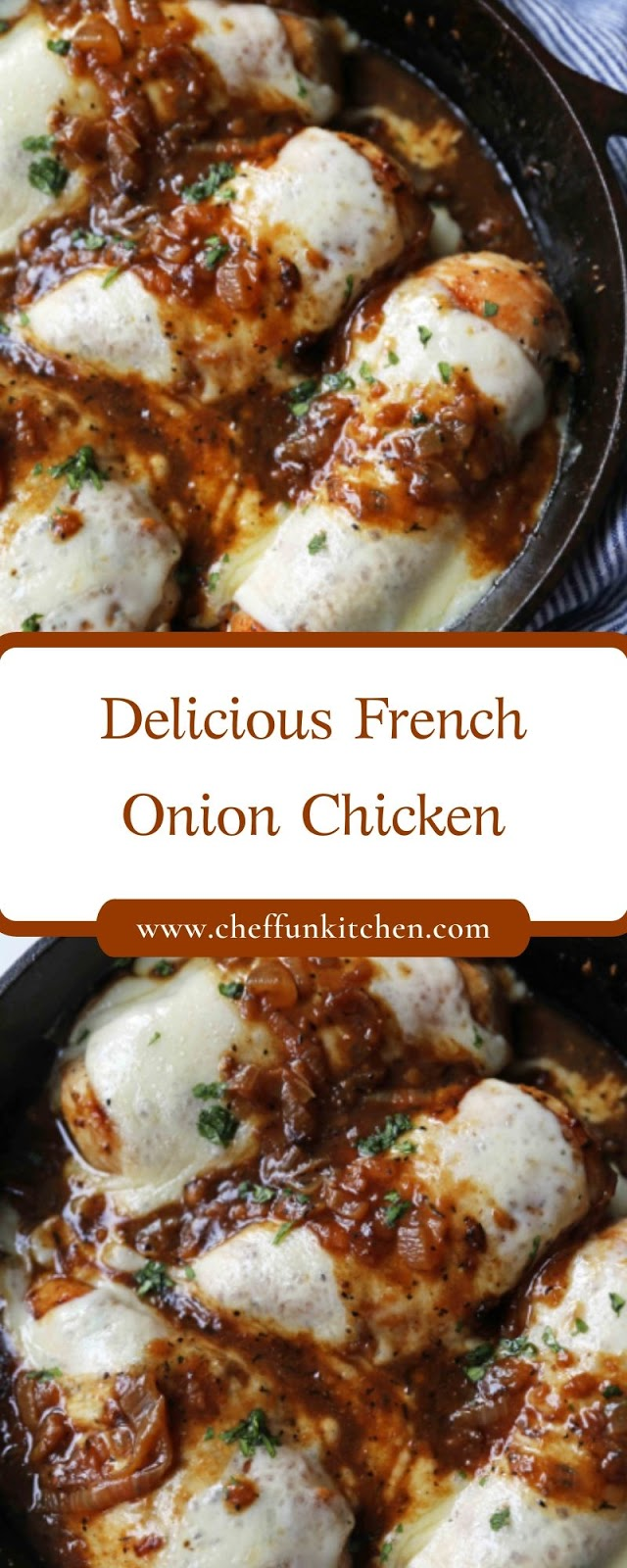 Delicious French Onion Chicken