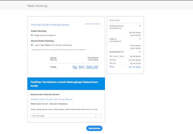 Cara Registrasi dan Beli Paket Hosting di Niagahoster.co.id