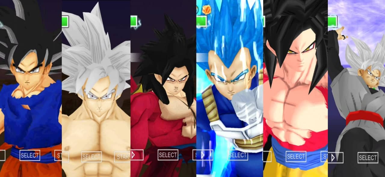 Dragon Ball Super Goku all forms