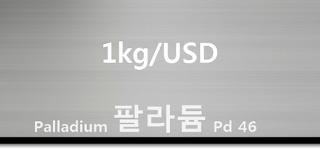 오늘 팔라듐 1 키로(kg) 시세 : 99.95 팔라듐 1 키로 (1Kg) 시세 실시간 그래프 (1kg/USD 미국 달러)