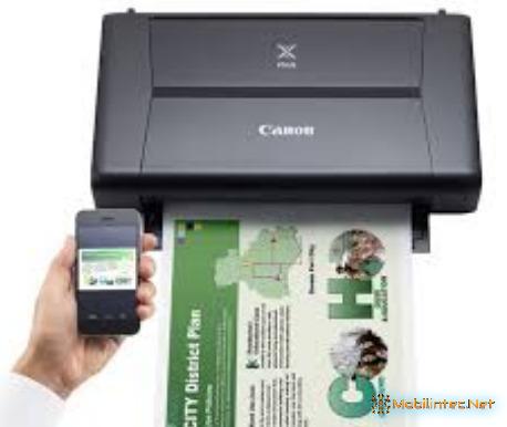 Canon Pixma Mobile iP110 Portable Bluetooth Printer