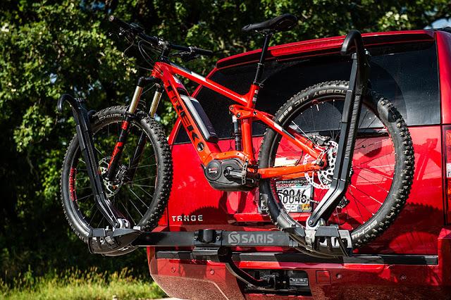 Can you put an electric bike on a bike rack