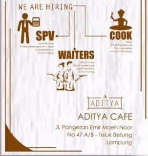 Bursa Lowongan Kerja di Aditya Cafe Lampung Terbaru Mei 2016