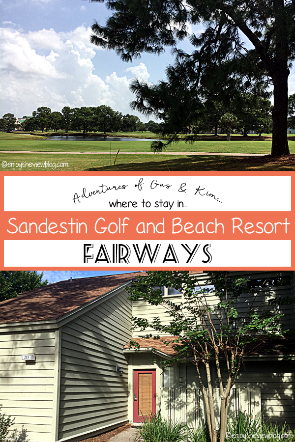 The Fairways condos in Sandestin are nestled in pine trees near the Choctawatchee Bay!
