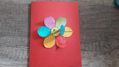 bricolage enfant petit cadeau grand carte fete pere mere à imprimer mamie fleur