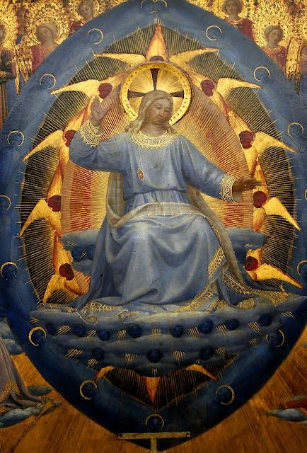 Juizo Final, detalhe, Fra Angelico. Gemadegalerie, Berlim
