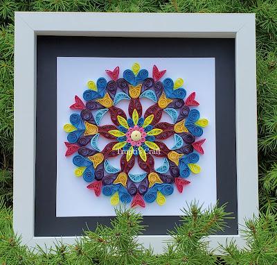Paper Quilling Mandala
