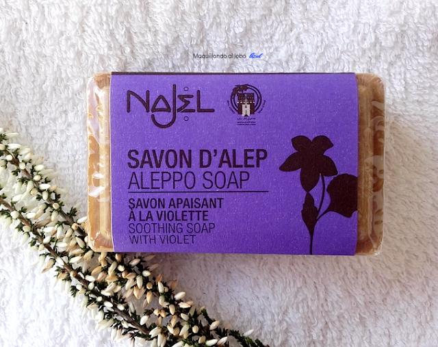 Jabón de Alepo con Violetas de Najel