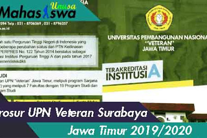 Brosur UPN Veteran Surabaya 2019 2020