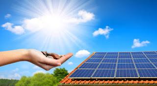 Solar panels that generates solar power.