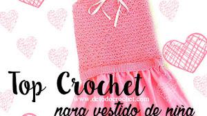Top Crochet para Nenas / Paso a paso