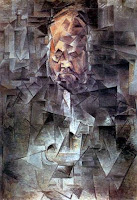 Pablo Picasso's cubist Portrait of Ambroise Vollard, 1910, depicting Vollard who was an art dealer and patron of Picasso.