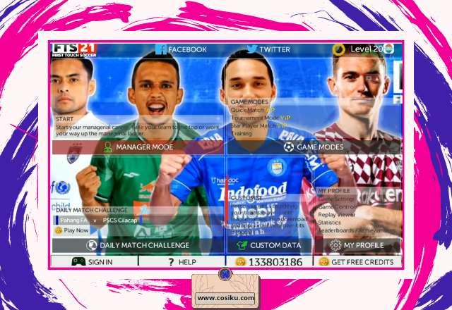 FTS 21 ASIA EDITION Apk Data + OBB UPDATE Piala Menpora & Kits 2021