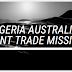 NIGERIA AUSTRALIA JOINT TRADE MISSION